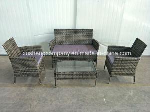 Home Garden Hotel mobiliario de exterior sofá para muebles de ratán