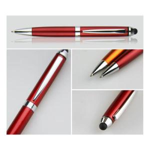 첨필 볼펜을 광고하는 플라스틱 펜 제조자