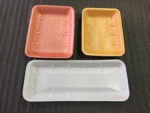 Biodegradables de fécula de maíz de la bandeja de envasado de carne de espuma