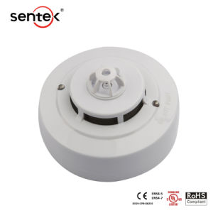 UL CertificationとのOEM ODM Conventional Photoelectric Smoke Detector Electric Smoke Alarm 2/4 Wire Fire Alarm System Security SD119-2L