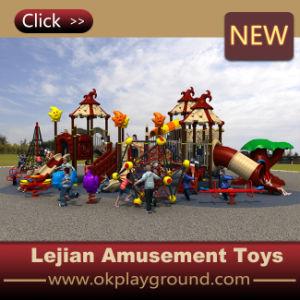 CE Terrain de jeux de plein air en plastique pour l'école (12087A)