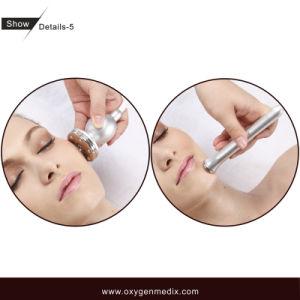Matériel de soin de beauté de peau de l'oxygène et de thérapie de vide