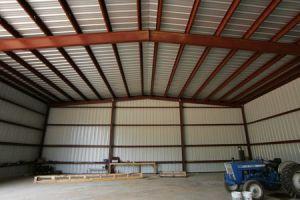 Éclaireur de porte de levage double structure en acier l'entrepôt (KXD-114)