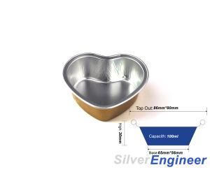 La compagnie aérienne d'aluminium de conteneur Conteneur d'aliments à emporter
