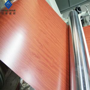 Prepaintedカラーはアルミニウムコイルのシート材料のローラーのガレージのドアに塗った
