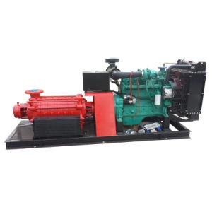 다단식 고압적인 화재 Figting 디젤 엔진 수도 펌프