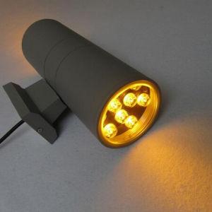 ライトの下の9W 2ヘッド屋外LED