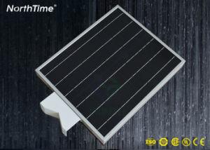 Intelligente energiesparende integrierte LED-Solarstraßenbeleuchtung Aufbauen-in der Lithium-Batterie 12W für Projekt
