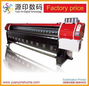 Faça duplo Digital Direct Rubber-Roll Jet Impressora por sublimação de tinta