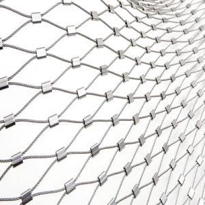Het beschermende Netwerk van de Kabel van de Draad van het Roestvrij staal voor de Dierlijke Kooien van de Dierentuin