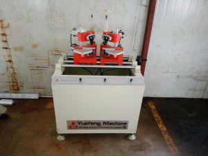 Fenêtre PVC V encoche Machine de nettoyage d'angle de la machine de fabrication de fenêtres en PVC