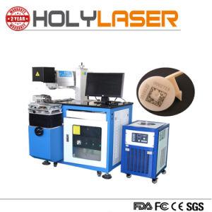 De acryl RubberNonmetal van de Knoop van het Leer Laser die van Co2 de Prijs van de Machine merken
