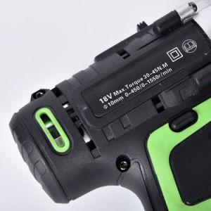trivello senza cordone del manicotto del doppio della batteria di 18V 13mm Li
