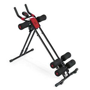 Ab King ejercicio abdominal máquina Ab Cruncher formador de equipos de gimnasia