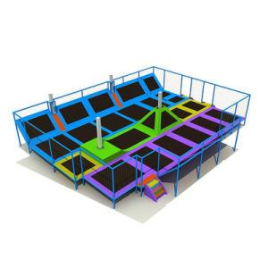 Grande sosta dell'interno poco costosa dell'interno commerciale del trampolino con il pozzo della gomma piuma da vendere
