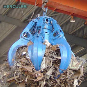 多くの種類の材料のための省エネの掘削機のグラブ機械