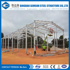La construcción de la estructura de acero de alta calidad