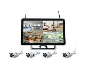 Kabeltelevisie 4CH 960p HD van Toesee IP van het Toezicht van het Huis WiFi van 21.5 Duim P2p de Digitale Draadloze Uitrusting van het Systeem van de Camera van het Netwerk