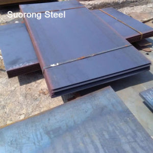 La norma ASTM A36 Un283 S235JR Ms laminadas en caliente de la placa de acero al carbono para la estructura del edificio