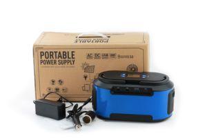Ligero AC DC 200W USB generador de energía solar con un panel solar