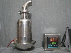 De Filter Houing van de Opening van het roestvrij staal met het Verwarmen Jasje