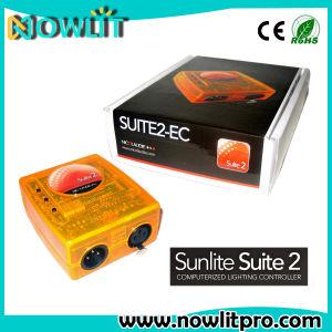 ソフトウェアが付いている3D操作Sunlite2 DMX512のコントローラのSunliteの# 2 USBの段階の照明コントローラ