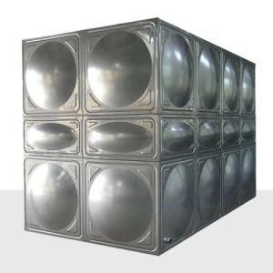 Panneau de flexible de réservoir d'eau du réservoir de stockage de l'eau en acier inoxydable