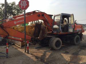 Usadas de excavadora de ruedas Hitachi EX160W, usadas de excavadora de ruedas Hitachi