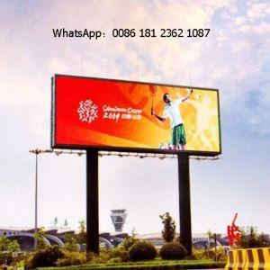 P6mm plein de panneaux publicitaires Affichage LED de couleur