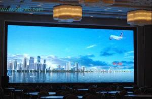 P5 de alta definición LED de color de la visualización de vídeo para interiores
