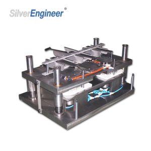 Автоматическое контейнер для продуктов питания из алюминиевой фольги бумагоделательной машины /Seac-80t перфорирование машины