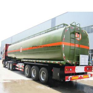 열 보존 가능한 3개의 차축 트럭 수송 아스팔트 탱크 트레일러