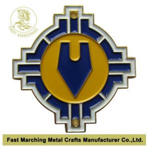 Cutomはスポーツ賞の記念品のボクシングの円形浮彫りの金メダルの製造者を切り分けた