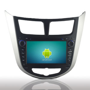Hyundai Verna Accent Solaris를 위한 차 DVD Player