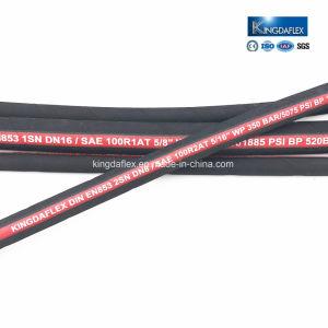 SAE100 R1 R2 flexibler hydraulischer Gummischlauch