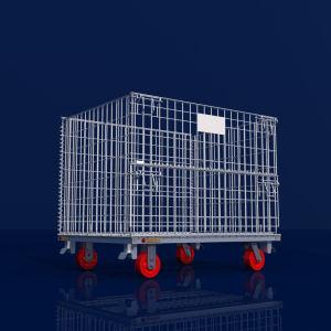 كبيرة حجم [ركبل] إمداد يلحم رخيصة سلك وعاء صندوق مع عجلات