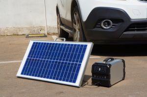 Leichter Energien-Bank-Solargenerator-Solaraufladeeinheit mit Sonnenkollektor