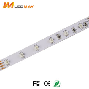 Indicatore luminoso flessibile della lista dell'indicatore luminoso di striscia della lista di RGB LED SMD3528 DC12V