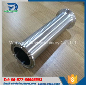 tubo premuto sanitario del puntale dell'acciaio inossidabile 2