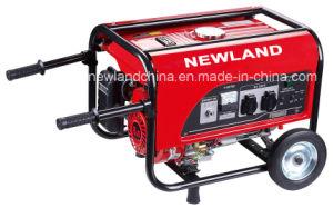 2kw 5.5HP obligado Air-Cooled generador de gasolina con Handlift