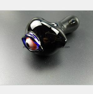 Glaswasser-Rohr mit GlasHuka mit Augen-Handrohr
