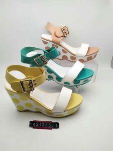 La Chine marque mixte de la femme/Mesdames High-Heeled sandales, les femmes et Mesdames les expéditeurs, les sandales de cuir. 20000paires, USD1.49/paires