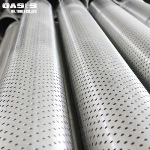 健康な訓練のためのステンレス鋼316Lの穴があいた包装の管スロット管