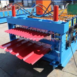Le toit de tuiles acier émaillée de couleur R machine à profiler de panneau