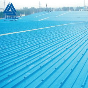 La couleur d'une durée de 15 ans Apvc 1050 Logement résidentiel tuile de toit