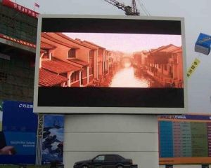 P3.91 pleine couleur affichage LED pour la publicité de plein air