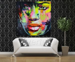 Pittura a olio dipinta a mano di Modern Figure Palette Knife Wall Art Decor Abstract Portrait Pop su Canvas