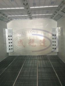 Cabina a base d'acqua della vernice di spruzzo dell'automobile della vernice del Ce Wld8400
