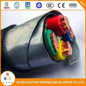 De hete Kabel van de Macht van de Band van het Staal van /Aluminum XLPE van het Koper van de Verkoop 4*95mm2 Isolatie Gegalvaniseerde Gepantserde