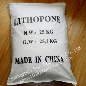 Pigmento blanco para el revestimiento de polvo Lithopone